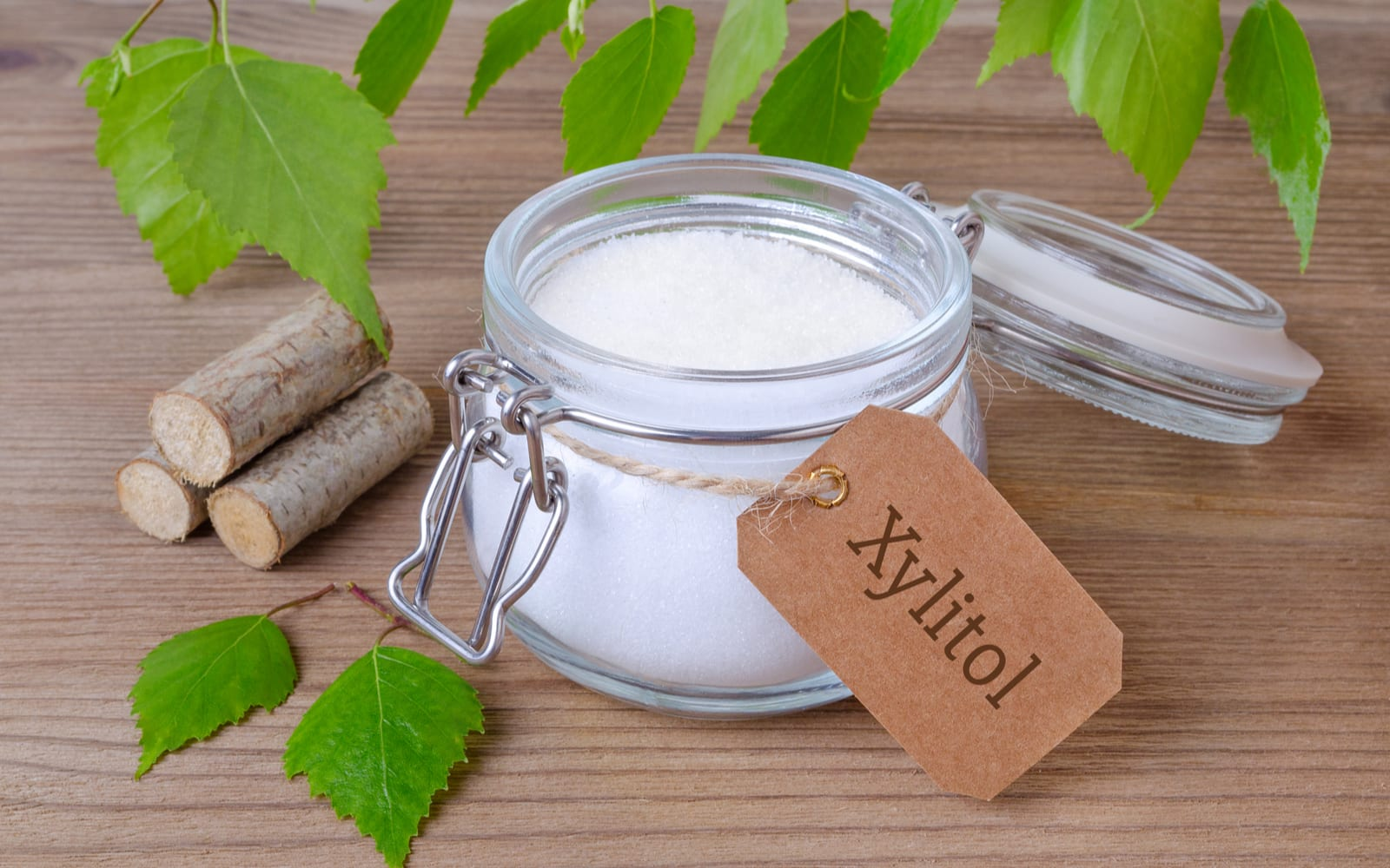 Container of Xylitol